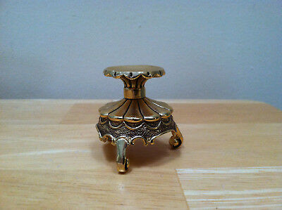 House Of Faberge 3-Footed Gold Ornate Egg Stand
