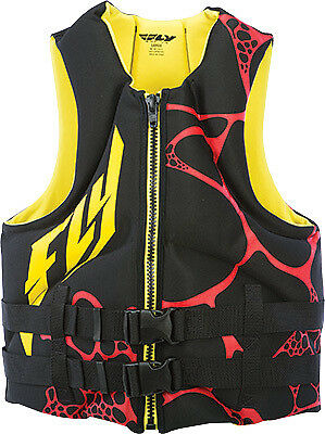 FLY RACING NEOPRENE VEST YELLOW/BLACK S Small 142424-300-020-16 221-21305