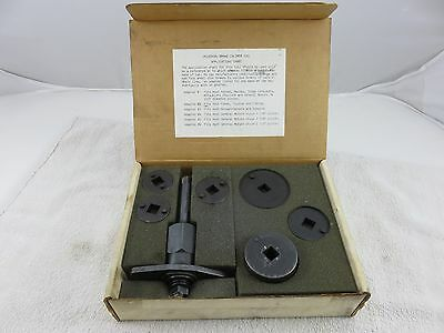 Schley SP 86150 Universal Brake Caliper Tool Set For Many Ford GM Japanese Cars