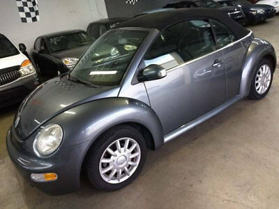 2004 Volkswagen New Beetle Convertible  $5500 INCLUDES SHIPPING 72K MILES IMMACULATE FLORIDA NONSMOKER CAR NEW TOP WOW