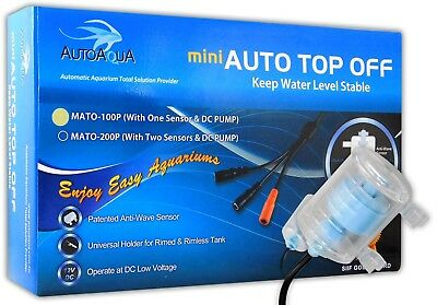 AutoAqua Mini 100 Auto Top Up Single ATO Aquarium Fish Tank Top Off Marine Sump