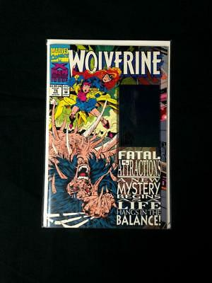 WOLVERINE #75 with HOLOGRAM SIGNED ADAM KUBERT FATAL ATTRACTIONS CROSSOVER X-MEN