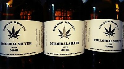 Colloidal Silver 500mL 10ppm