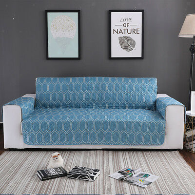 3 SIZE OPTION Sofa Couch Settee Slip Cover Furniture Arm/Seat/Back Protector