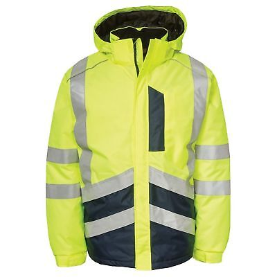 Caterpillar Mens Hi-Vis Zip Up Jacket (FS5791)