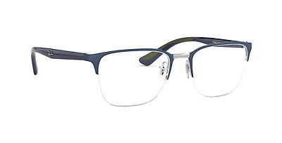 553c6d5fc1 Spectacles Frame Rayban Rb 6428 Cal. 52 In Metal Wire Nylon Unisex New