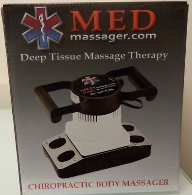 MED Deep Tissue Massage Therapy Chiropractic Body Massager - New - Free Shipping
