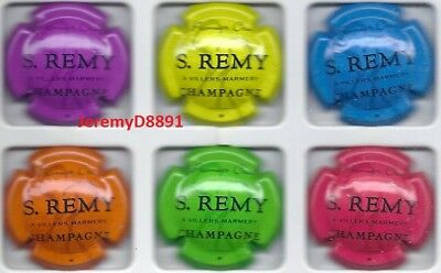 capsule champagne série S REMY 2018
