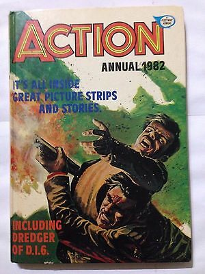 ACTION Annual 1982. Good Condition For Age **Free UK Postage**