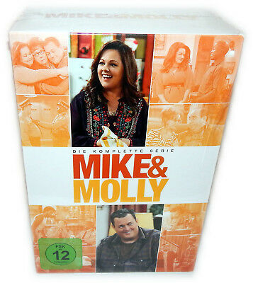 Mike & Molly - Die komplette Serie (Staffel/Season 1-6) [DVD] 17-Disc, Deutsch