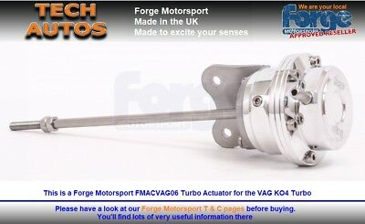 FMACVAG06 VW Golf MK5 ED30 Golf R MK6 Scirocco Forge Motorsport Turbo Actuator