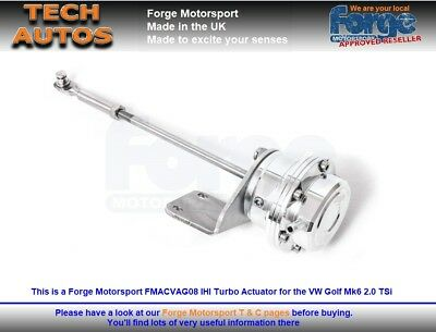 VW Golf Mk6 ED35 GTi / R Forge Motorsport FMACVAG06 IHI Turbo Actuator