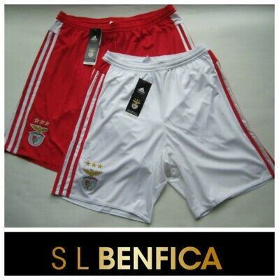Benfica Away Football Shirt Home Shorts adidas Boys Kids Junior SLB Team Kit NEW