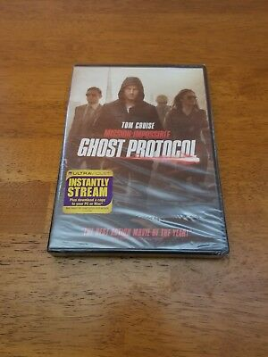Mission: Impossible - Ghost Protocol (DVD, 2012, Free Shipping! NEW AND SEALED