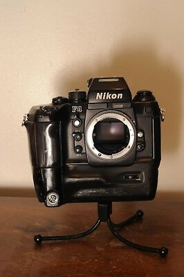 Nikon F4 35mm auto-focus SLR camera body only with With MB21 battery grip
