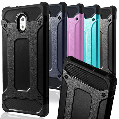 Outdoor Cover for Nokia 3 Shell Kickstand Phone Case Impact Mobile Cover Rubber
