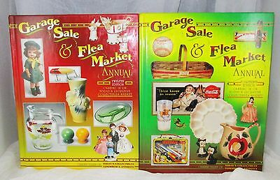 Garage Sale & Flea Market Annual LOT of 2 Twelfth  Fourteenth Editions
