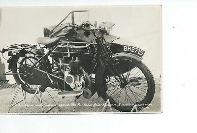 Real photo postcard of a 499 cc 1914 Sunbeam in very good condition