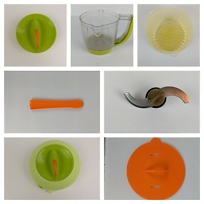 BEABA Babycook Baby Food Maker Replacement Parts Pieces Lids Pitcher Spoon