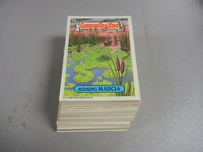 1987  87  Garbage Pail Kids GPK USA Series 13  Complete Set  88 cards Mint!