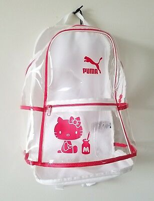f73f3e4e7c45 NEW Puma X Hello Kitty Backpack Bag USA SELLER!! - 50th Anniversary Sanrio  RARE