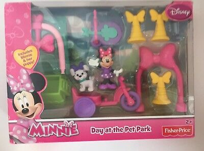 Fisher-Price Disney Minnie Mouse Day at the Pet Park - NEW In box