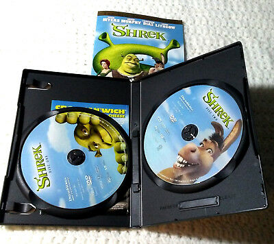 Shrek Movie DVD Two Disc Special Edition