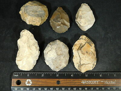 A BIG Lot of 55,000 to 12,000 Year Old Early Man Aterian Artifacts Algeria 251gr