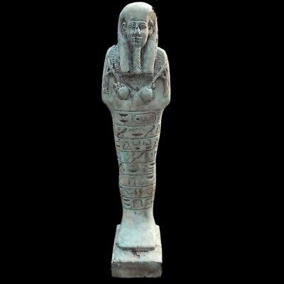 EGYPTIAN HIEROGLYPHIC SHABTI, LATE PERIOD 664 - 332 BC (3) 18.5cm Tall !!!!!!!