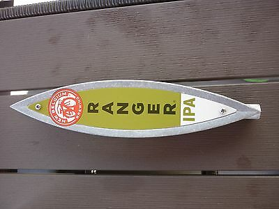 New Belgium Brewing Tap Handle Ranger IPA GREAT CONDITION Bicycle Rim FREE SHIP