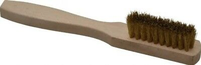 Weiler 3 x 10 rows fill Brass Small Hand Wire Scratch Brushes, box of 40, #44619