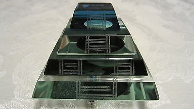 High Quality 4-Level 4-Color Clear Crystal Pyramid