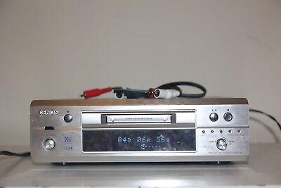 Denon DMD-F101 Mini Disc MD Player MDLP Long Play with Remote