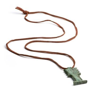 Egyptian Djed Pendant Necklace - Museum Store Collection