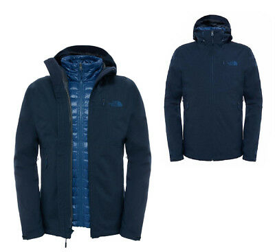 brand new 910e4 93fde THE NORTH FACE Herren Thermoball Triclimate 3in1 Männer Doppeljacke Jacke  navy