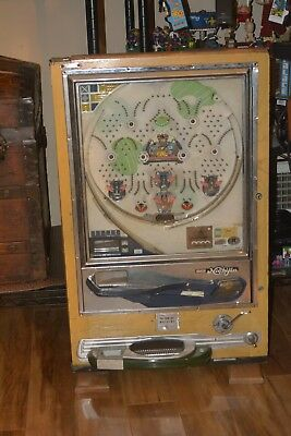 Vintage Nishijin Pachinko machine in wood *PICK UP ONLY* Resorts World Catskills