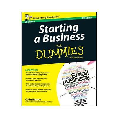 Starting a Business for Dummies by Colin Barrow (author)