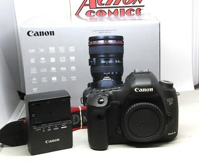 Canon EOS 5D Mark III 22.3MP Digital Camera Body Shutter Count 31963 Excellent
