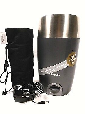 Breville WC15XL Wine Chiller With A/C Adapter & Holder/Bag Chill in 7 minutes