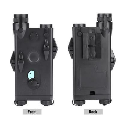 Airsoft Tactic AN PEQ-2 Battery Case Box Fully Working Red Sight Ver 20mm Rail