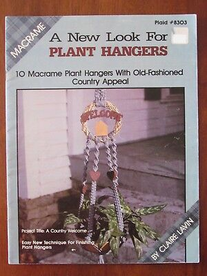 Macrame - A New Look For Plant Hangers 10 Projects Plaid #8303