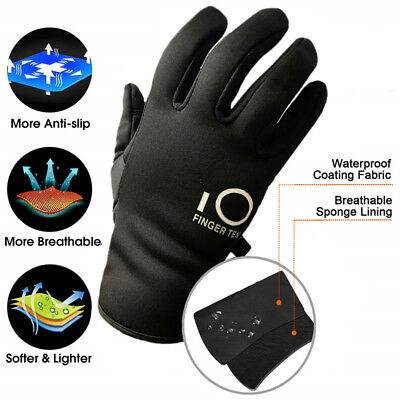 Winter Work Gloves Full Finger Warm Wind Water Resistant Anti-Slip 3M Thinsulate