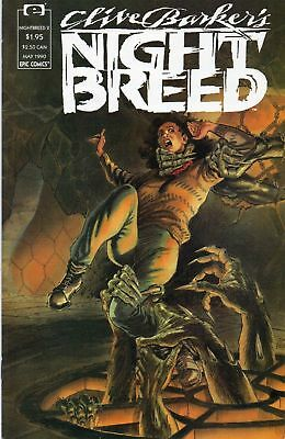 Clive Barker's Night Breed  #2  Epic Comic Book