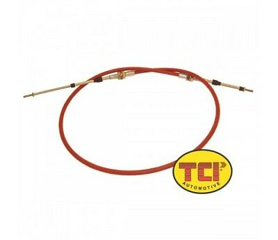 TCI 840600 Shifter Cable of Steel Nylon Liner Long - 6 ft / 2 in Stroke