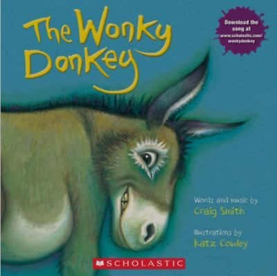 The Wonky Donkey by Craig Smith (2010, Paperback) Book + Downloadable song