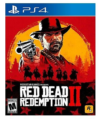 Red Dead Redemption 2 * Playstation 4 * Brand New Factory Sealed!