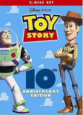 New Sealed Toy Story 10th Anniversary Edition DVD Authentic & Genuine