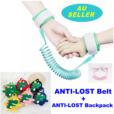 2M Toddler Kid Baby Safety Anti-lost Strap Harness Child Wrist Band Belt Reins