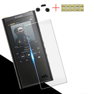 Tempered Glass Screen Protector Film For SONY NW-ZX300 ZX300 With Dust Plug