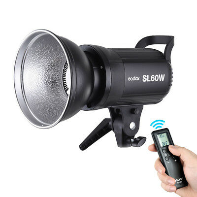 Godox SL-60W 5600K 60Ws High Power Wireless Remote Control LED Video Light Lamp